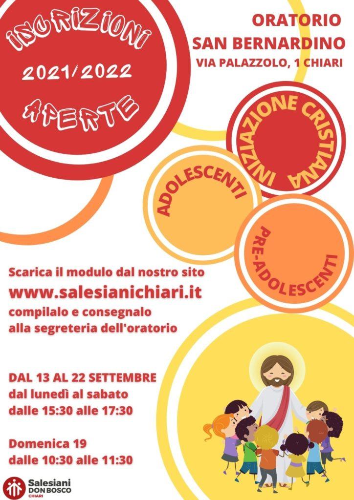 percorsi di catechesi - San Bernardino - Chiari - Scuola Paritaria